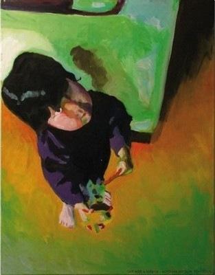 Peinture de Louisa Dusinberre