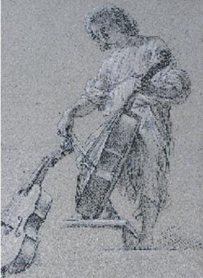 Dessin d' Etienne (Stefano) Parrocel dit LE ROMAIN - Collection du Musée de Grenoble
