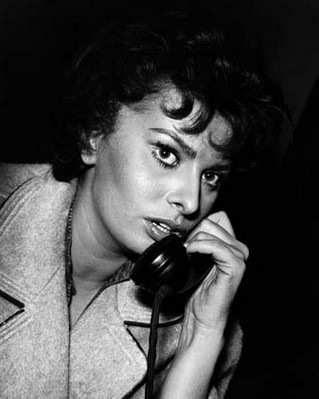 Photo de Sophia Loren prise par Leonard Gianadda