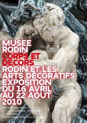 Rodin et les arts décoratifs au Musée Rodin, Paris, 2010