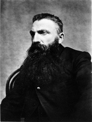 Photographie de Claude Monet par Adolphe Braun