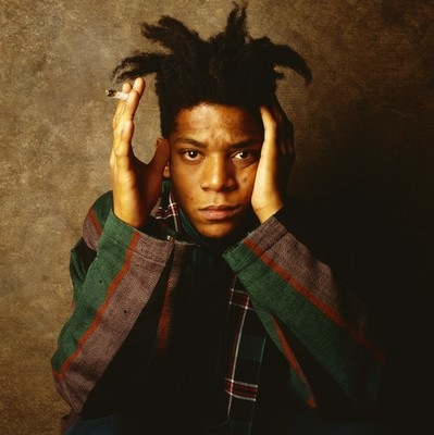 Photo de Jean-Michel Basquiat dans le film de Tamra Davis