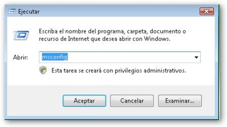 Deshabilitar programas residentes en la memoria en windows vista