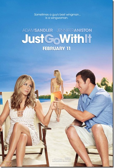 Just Go With It Hollywood Movieposter