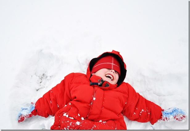D - Snow angel