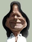 Caricatura do Roberto Carlos
