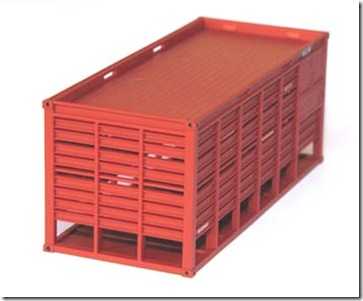 Photos of the newly released Mc Cattle container by SDS