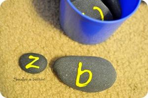Alphabet rocks 026