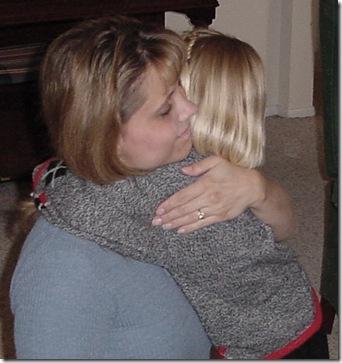 Maddison BD 3-25-2001 Hug for MOM