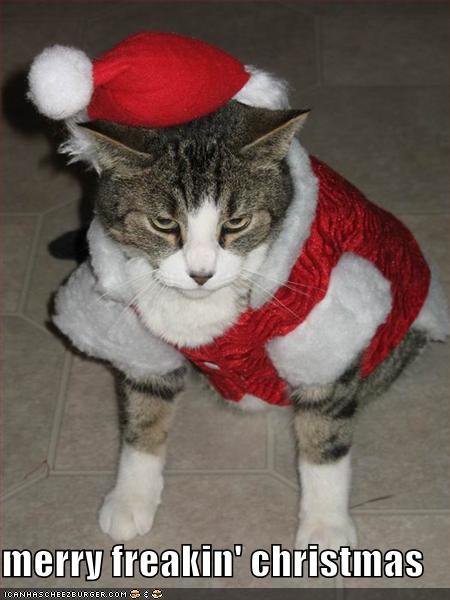 merry freakin christmas