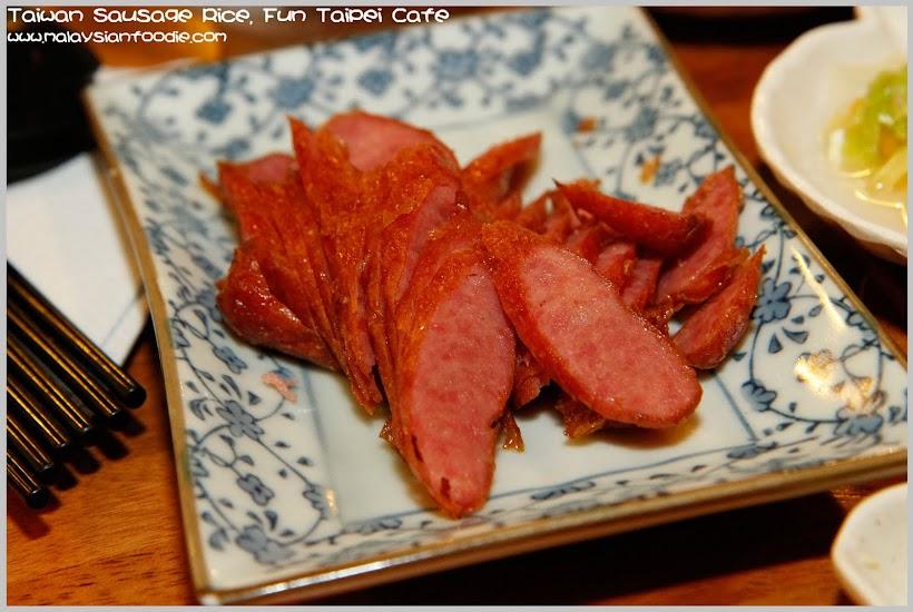 Taiwan Sausage Rice