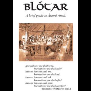 Blotar A Brief Guide To Asatru Ritual Cover