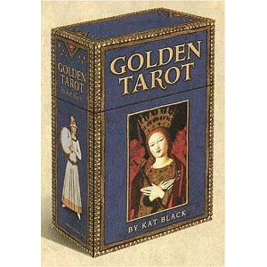 Golden Tarot Deck Cover