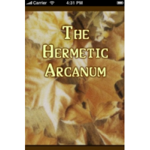 The Hermetic Arcanum The Secret Work Of The Hermetic Philosophy Cover