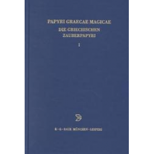 Papyri Graecae Magicae Or Greek Magical Papyri Texts Cover
