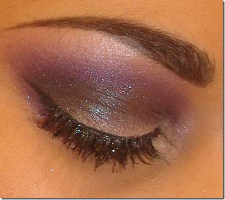 smokey purple eye