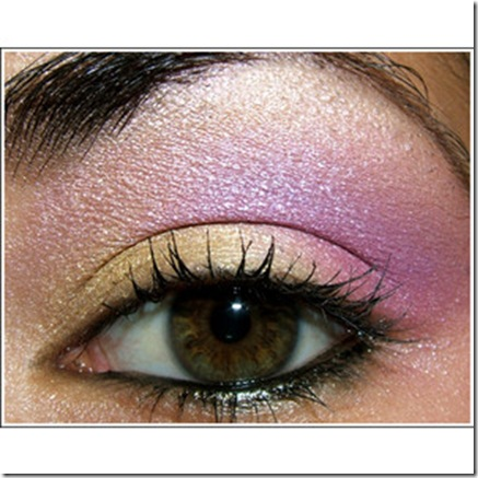 Springy Pastel Yellow_ Pink_ and Purple Eye
