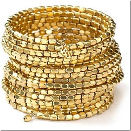 Women_s Gold Coil Bracelet