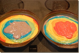 rainbow cake pans