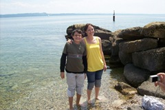 Leigh and Cole - Lake Neuchatel