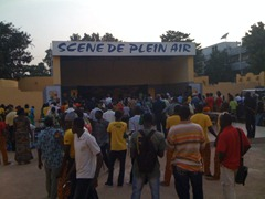 Concert Stage - Bamako