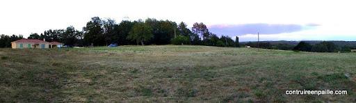 Vue depuis le sud-ouest - 16 avril 2005