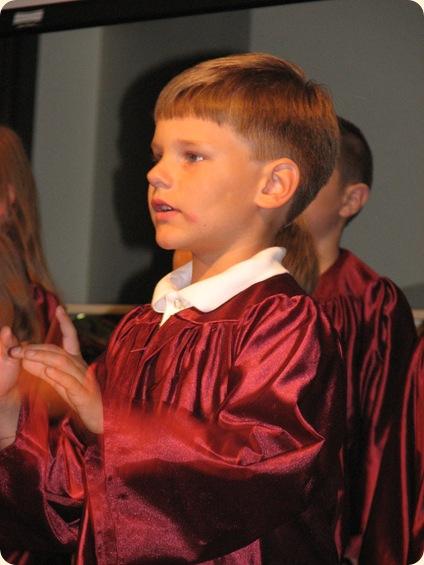 Matthew's Pre-K Graduation 021