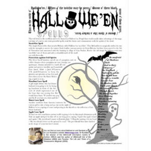 Halloween Spells Cover