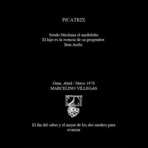 Picatrix In Spanish Cover