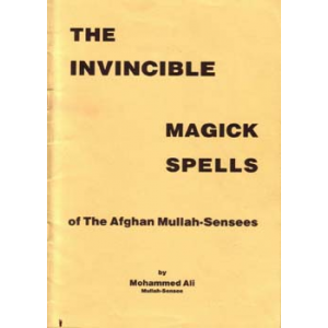 Invincible Magick Spells Of The Afghan Mullah Sensees Cover