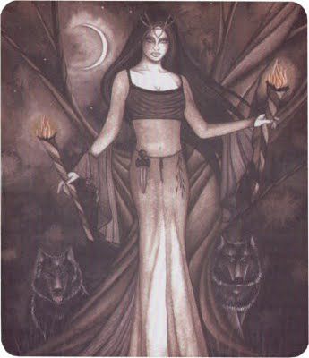 Hecate Living Altar Spell Cover