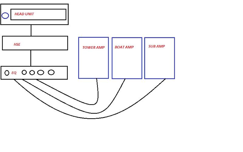 hse volume control - sub wiring