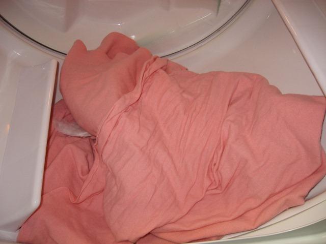 wool in dryer