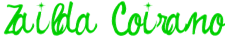 assinatura verde