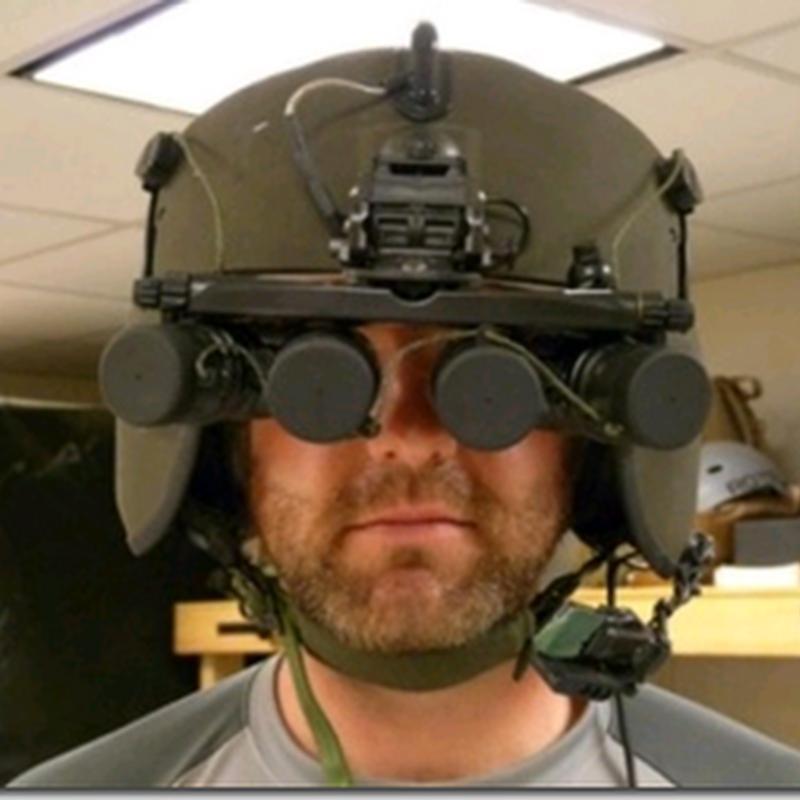 Helm Terminator Buatan Pentagon Mampu Mendeteksi Pemilik Senjata Kawan dan Lawan