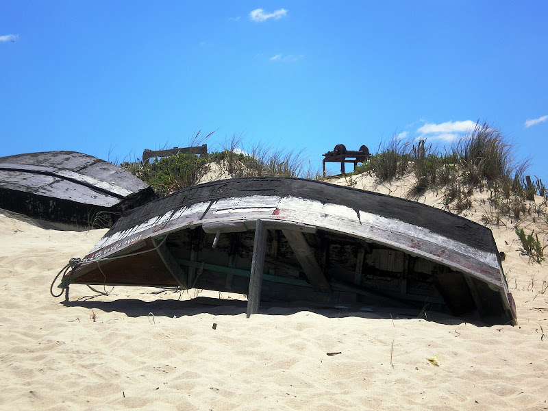 Barco, Praia do carvalhal