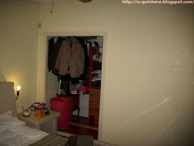 Dormitorio antes...