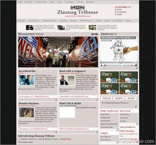 Zinmag Tribune