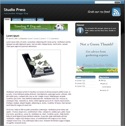 studio-press-template