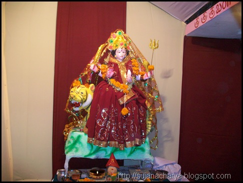 Red Durga