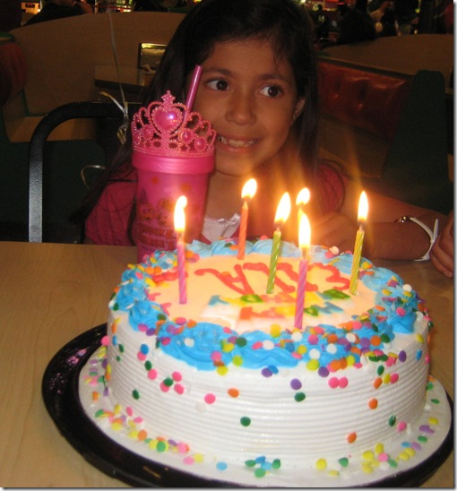 sparkles cake