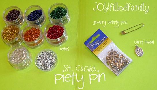 piety pin joy