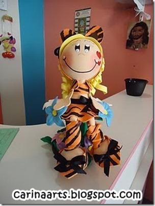 Fofucha tigresa