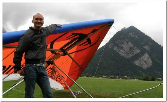 Hang-gliding in Switzerland
