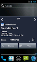 Screenshot of Notify - Xperia Theme