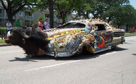 Art Car Parade, Houston, Texas, May 9, 2009