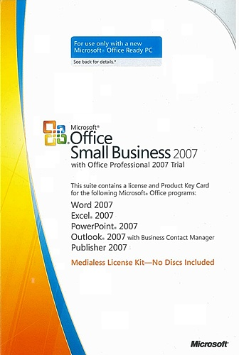microsoft office professional 2007 trial