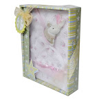 Blanket Baby Gift Set - GS10-1018-Pink (100% Cotton)
