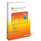 Microsoft Office Home & Business 2010 Product Key Card w/o CD (1 user)