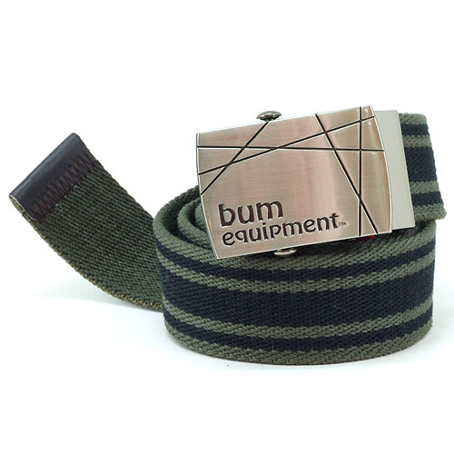 B.U.M. Equipment Canvas Belt - BEB019(Army Green)